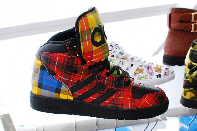 b289f16578cb Jeremy Scott x adidas Forum  Multi-Tartan